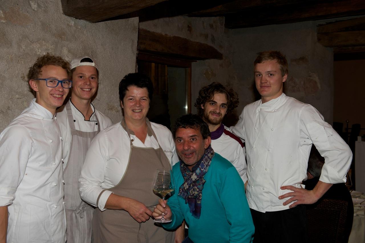 staff del Zum Loewen con Danilo Gramegna